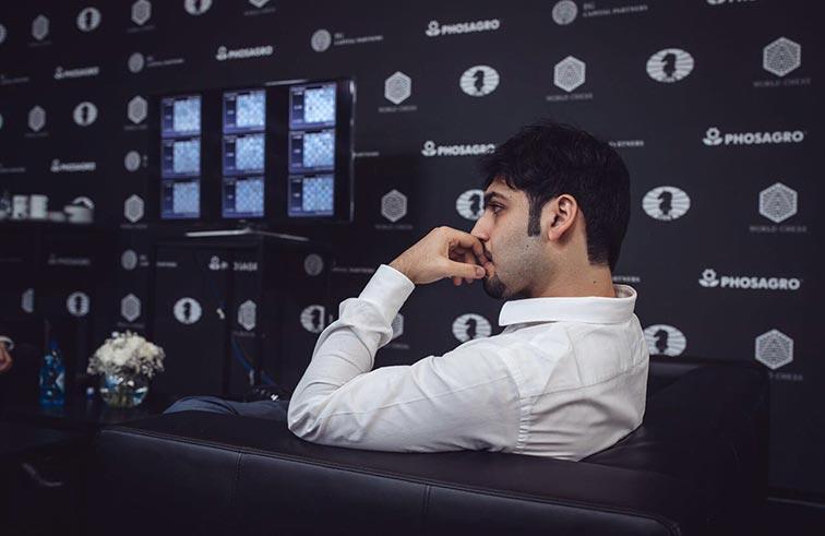 سالم عبدالرحمن يحقق تعادلا جديدا في الجائزة الكبرى للشطرنج