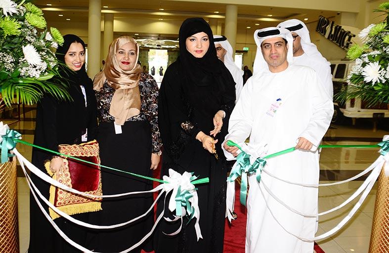 افتتاح معرض ودكس13 للأعراس في العين