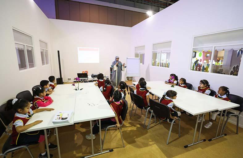 مهرجان الشارقة القرائي للطفل يعلّم الصغار كيفية النطق السليم