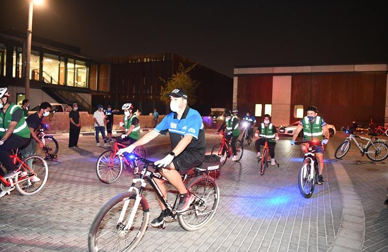 عبد الله المري: مبادرة شارك مع فرق الدراجات الهوائية أبرزت عُمق العلاقة بين الحكومة والمجتمع
