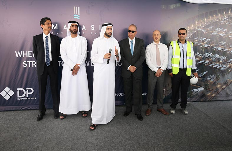 دبي للعقارات تدشن أحدث مراسيها العصرية ضمن مشروع مراسي الخليج التجاري