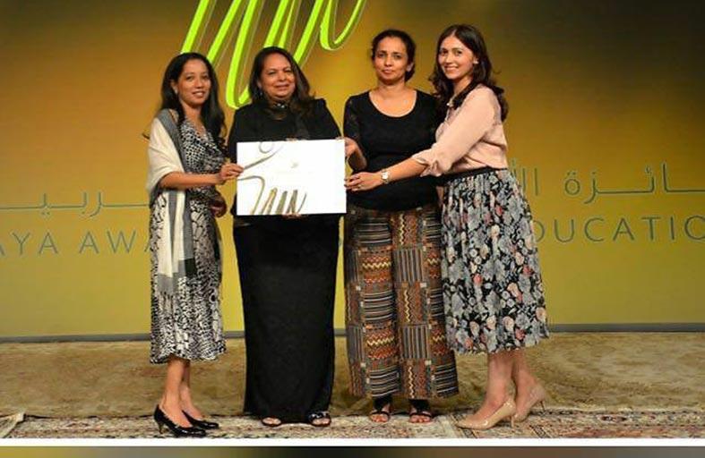 مركز النور للتدريب يفوز بجائزة الأميرة هيا بنت الحسين للتربية الخاصة عن أفضل حملة توعية