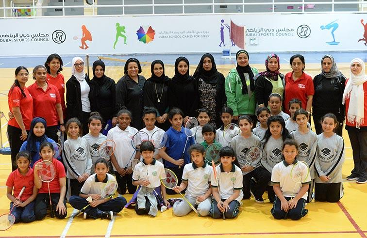 ختام منافسات دورة دبي للألعاب المدرسية للطالبات