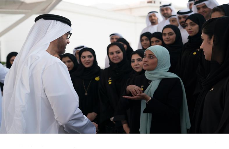 محمد بن زايد: هدف الإمارات الأساسي منذ نشأتها هو سعادة مواطنيها