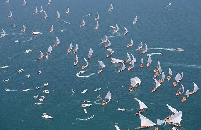 الشراعية 43 قدما تدشن موسم دبي البحري السبت