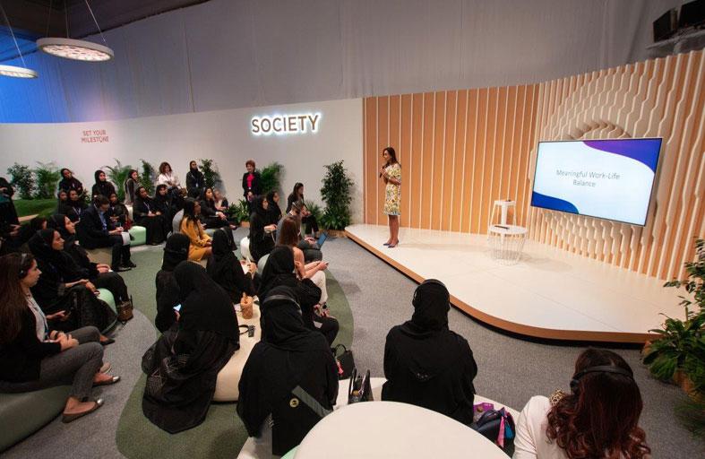 منتدى المرأة العالمي يسلط الضوء على سبل تحقيق التوازن بين العمل والحياة الأسرية