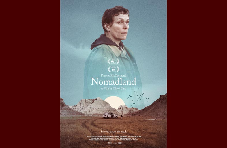 فيلم Nomadland الحصان الرابح بعد حصوله على 3 جوائز