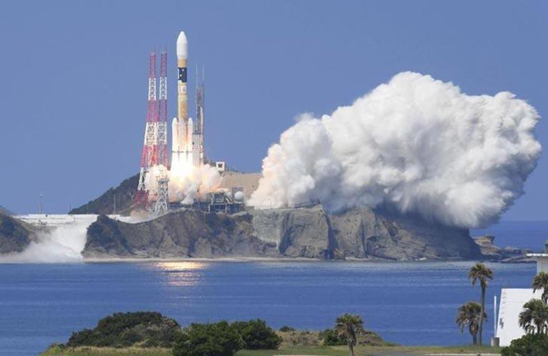 قمر صناعي ياباني لتحديد المواقع الجغرافية