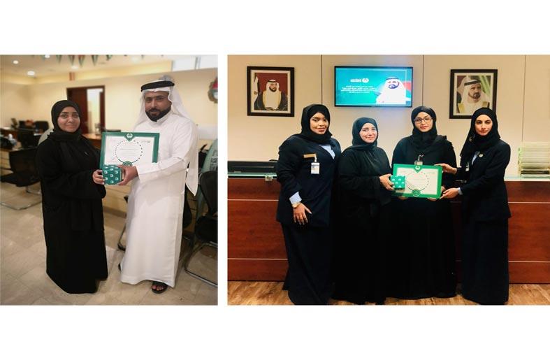 شرطة دبي تكرم الموظفين المتفوقين دراسياً من فئة أصحاب الهمم