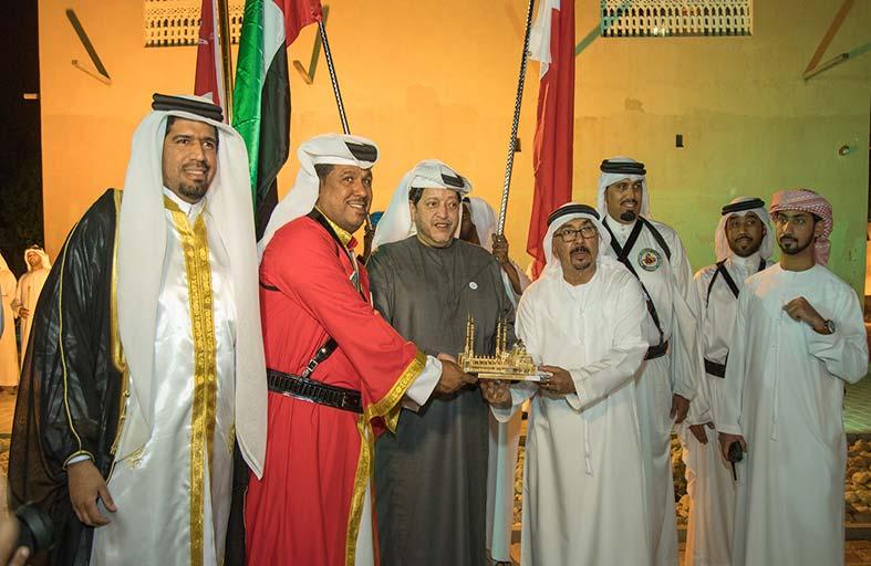 فرق شعبية من الإمارات وعُمان والبحرين تختتم سلسلة تراثي مسؤوليتي  في متحف قصر العين