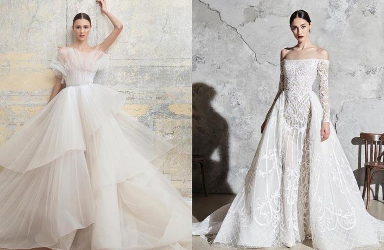 كيف غير الوباء تصاميم فساتين الزفاف؟