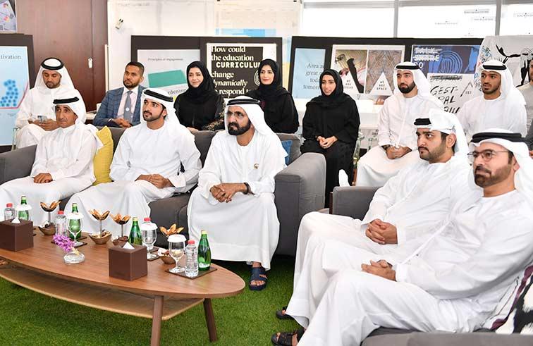 محمد بن راشد :الإمارات ماضية في بناء نموذج عالمي لتحقيق الأفكار الإبداعية لخدمة البشرية