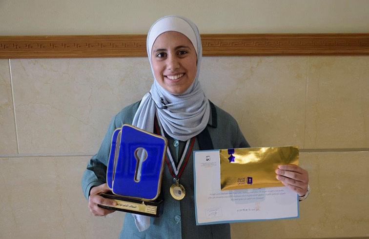 ضحى حسين بطلة لتحدي القراءة العربي في الأردن