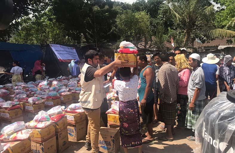 الهـلال الأحمـر تنـفذ عمليـات إغاثـة عاجلـة لمتضرري الفيضانات في السـودان والهنـد وإندونيسيـا