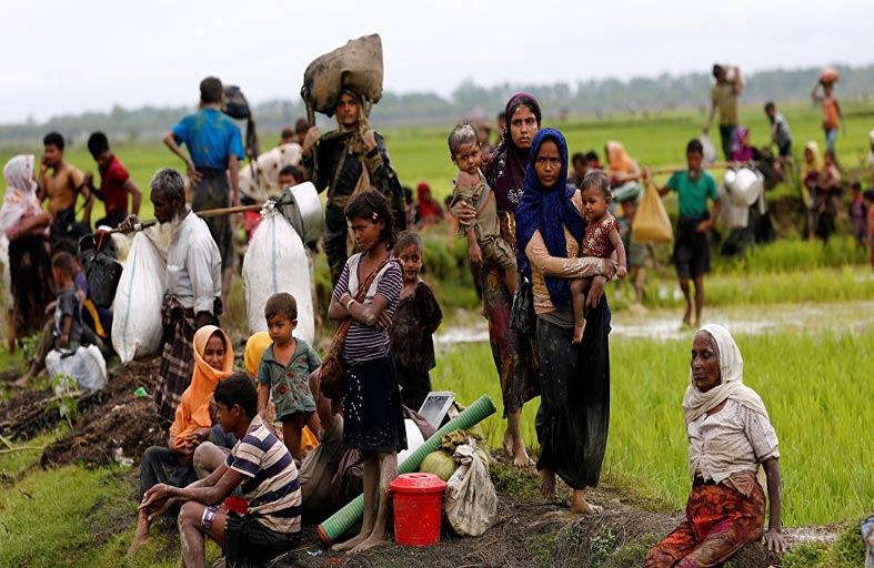اللاجئون الروهينغا ضحية الإتجار بالبشر في بنغلادش