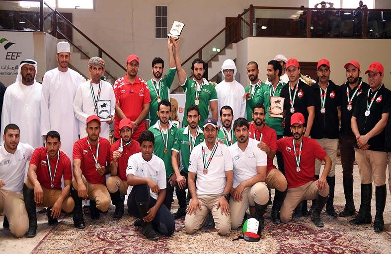 الفريق السعودي بطلا لكأس الصداقة الخليجية لالتقاط الأوتاد