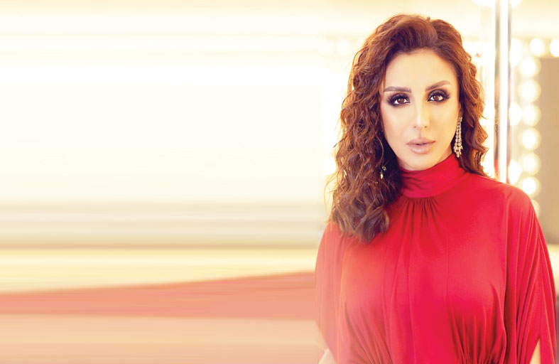 أنغام تتأهب لطرح ألبومها  الخليجي الجديد (مزح)