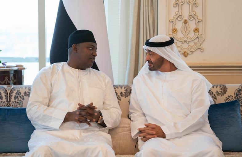 محمد بن زايد يؤكد حرص الإمارات على دعم جهود التنمية في الدول الأفريقية