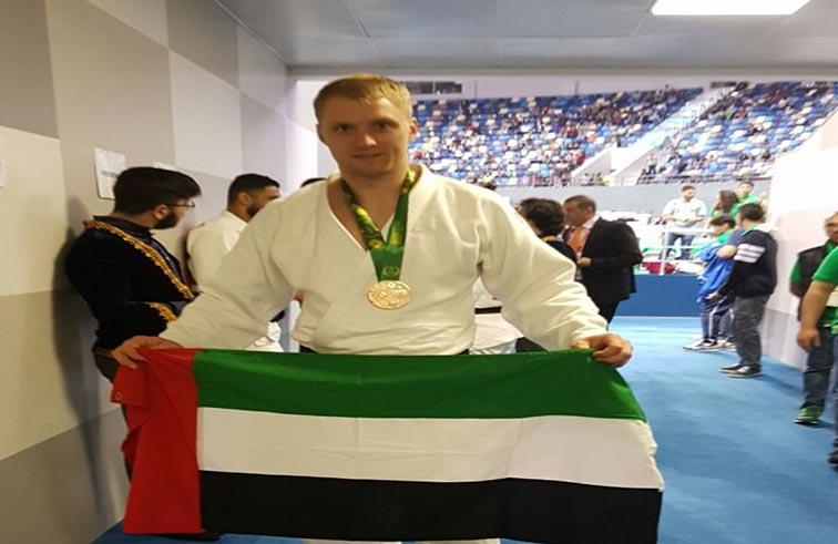 الجودو يهدي الإمارات الميدالية الأولى في ألعاب التضامن الإسلامي بباكو