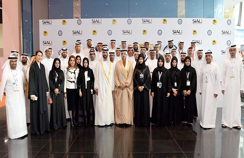 منصور بن زايد يفتتح معرض «سيال الشرق الأوسط 2017 » في أبوظبي