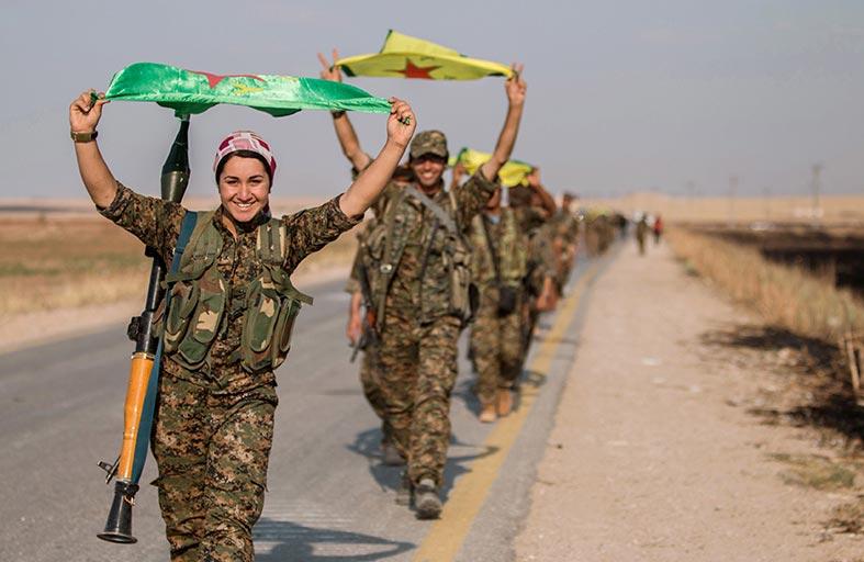 أكراد سوريا يحذرون من «خطر» الدواعش المعتقلين