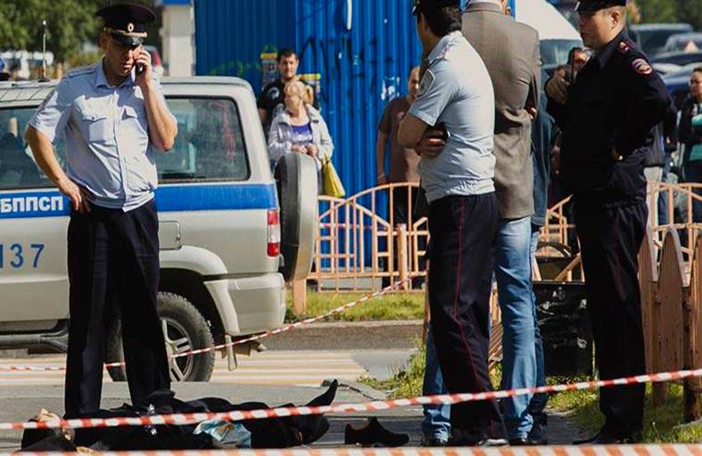 إصابة 7 في هجوم بالسكين في روسيا