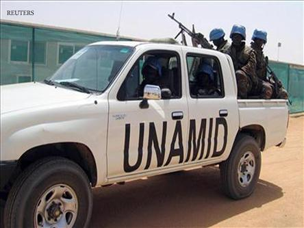 غاني رئيساً لبعثة السلام في دارفور