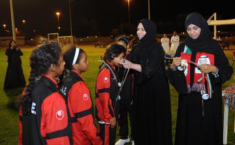 إثارة كبيرة في الجولة الثانية للدوري .. أبوظبي يتصدر الناشئات ودبي يتألق في دوري الفتيات