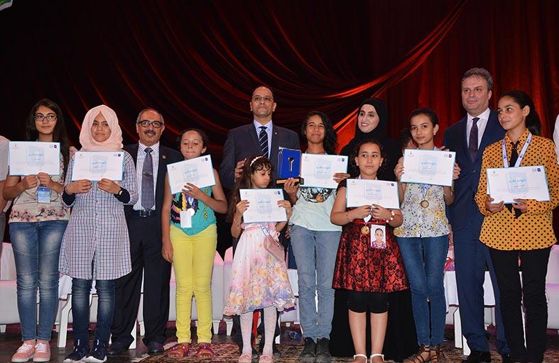 تتويج رباب عبد الناظر بطلة لتحدي القراءة العربي على مستوى تونس