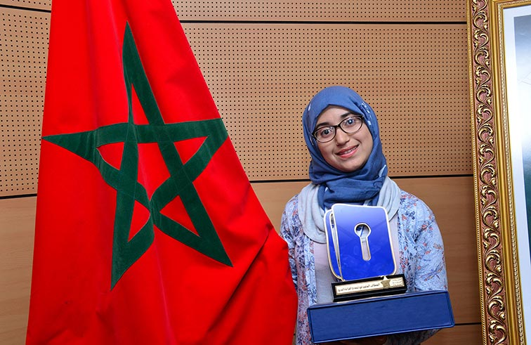عتيقة العدناني بطلة لتحدي القراءة العربي في المغرب