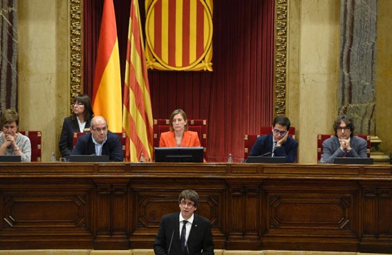 كاتالونيا: الاستقلال.. مع تأجيل التنفيذ...!