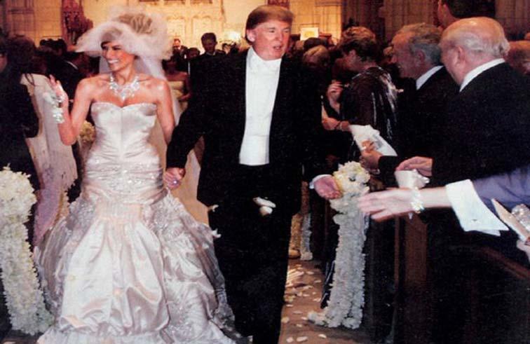 دونالد ترامب وميلانيا: في كواليس زواجهما البارد...!
