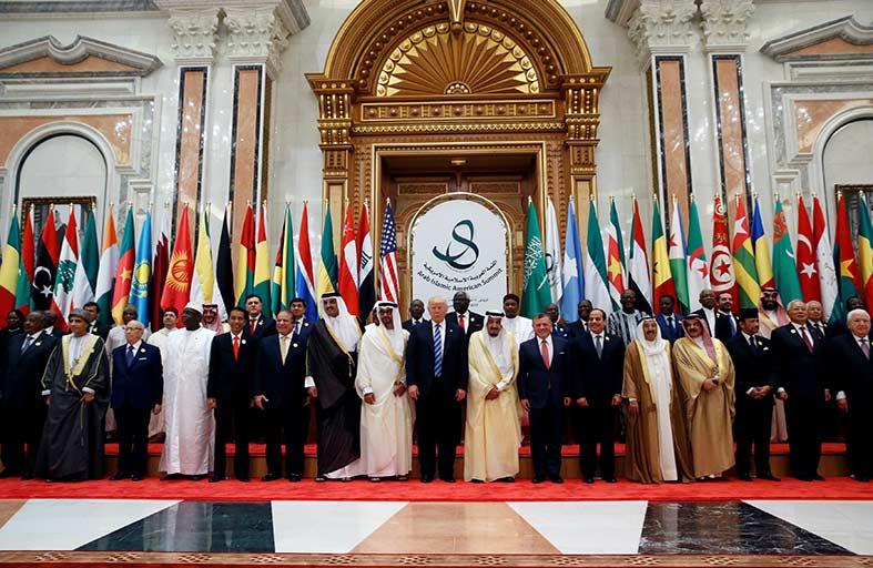 قادة دول التعاون وأمريكا يعبرون عن التزامهم بمعالجة جذور الأزمات في الشرق الأوسط
