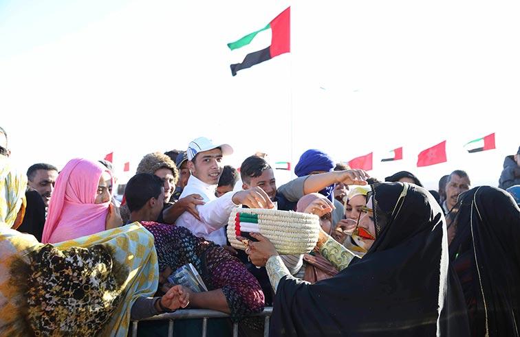 الاتحاد النسائي العام يسلط الضوء على التراث الاماراتي في موسم طانطان الـ 13