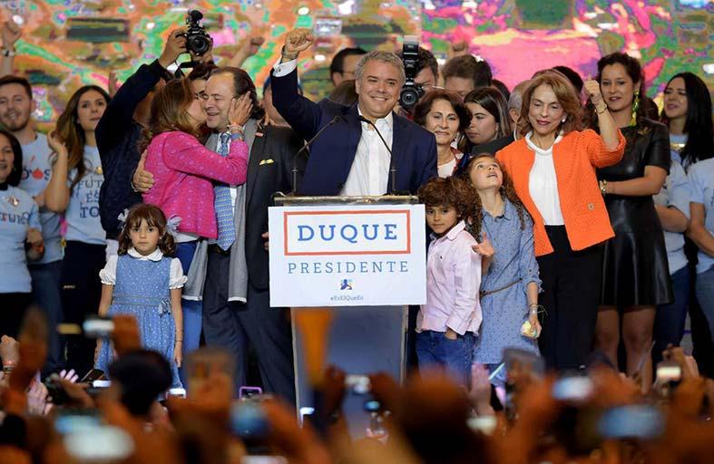 كولومبيا: تحديات الرئيس الجديد إيفان دوكي...!
