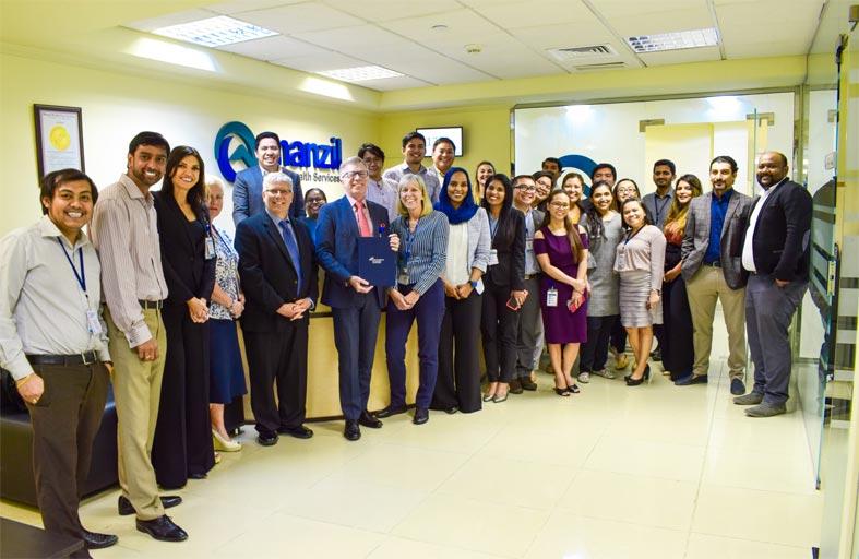 تجديد اعتماد منزل للرعاية الصحية من اللجنة الدولية