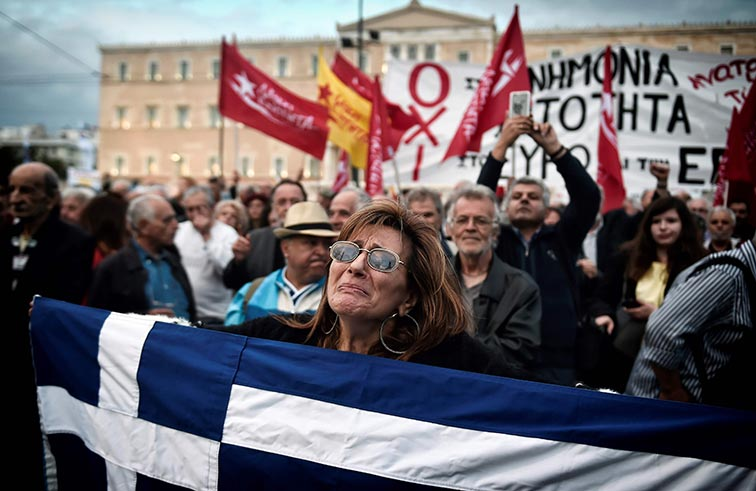 البرلمان اليوناني يصوت على اجراءات تقشف جديدة