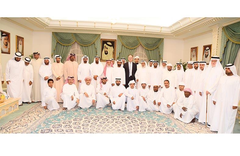 مجلس بن حم الرمضاني : يشيد بدور الإمارات في العمل الإنساني