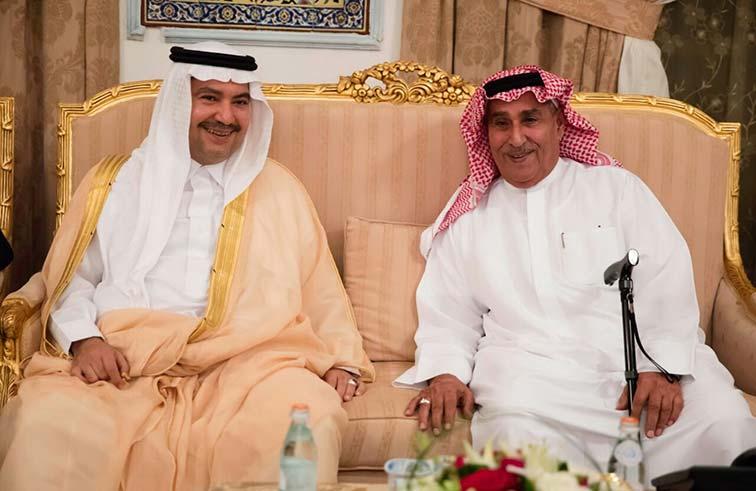 عبدالملك بن كايد يحتفي  بالأمير تركي بن محمد آل سعود