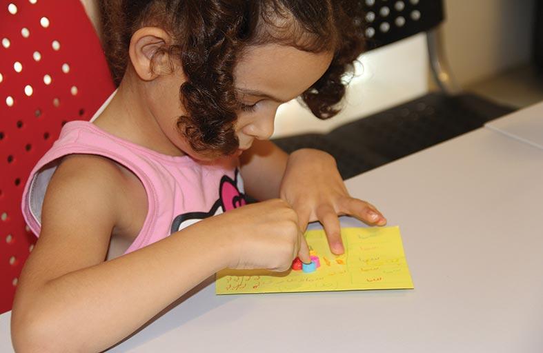ورشات فنية للأطفال في مركز القطارة للفنون