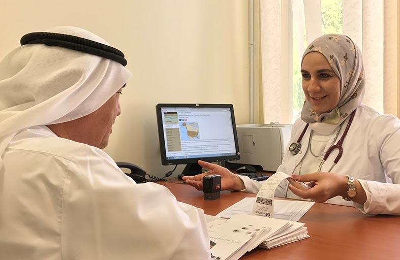 خدمات متنوعة تقدمها عيادة المسافرين في الطب الوقائي بعجمان