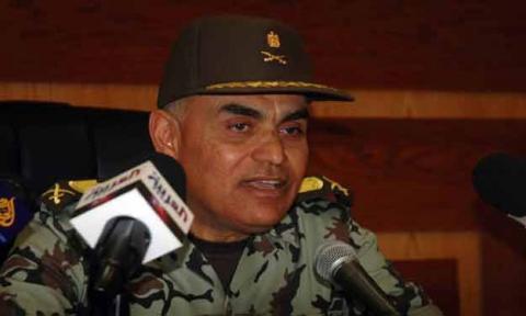 رئيس الأركان المصري يشيد بآيدكس