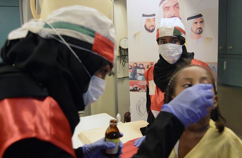 «حملة الشيخة فاطمة الإنسانية العالمية» تكثف مهامها في السودان بعلاج آلاف النساء والأطفال
