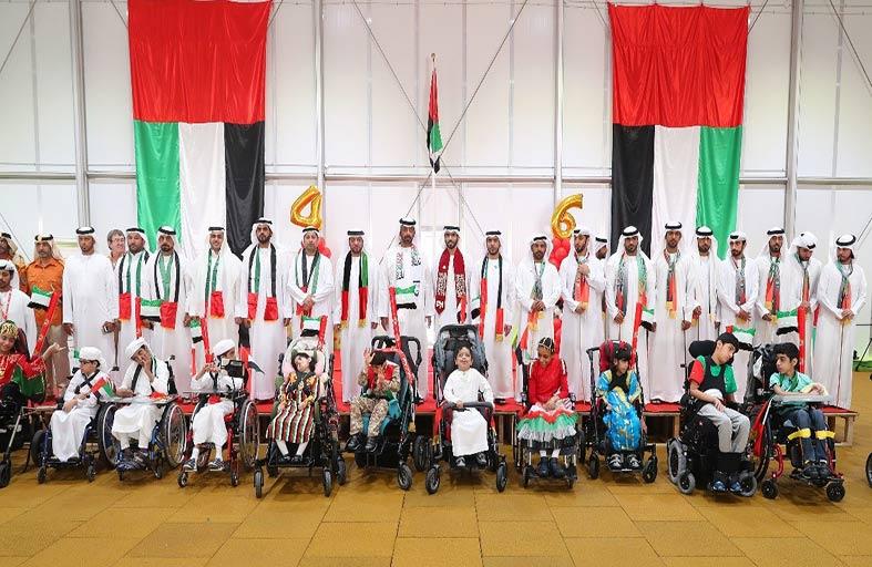 مراكز زايد العليا  بمنطقة العين تحتفل باليوم الوطني الـسادس والأربعين