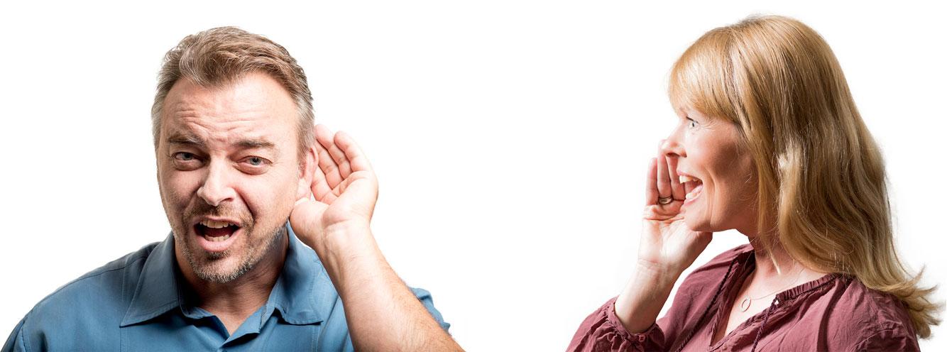 الأذنان تنسقان عملهما مع العينين