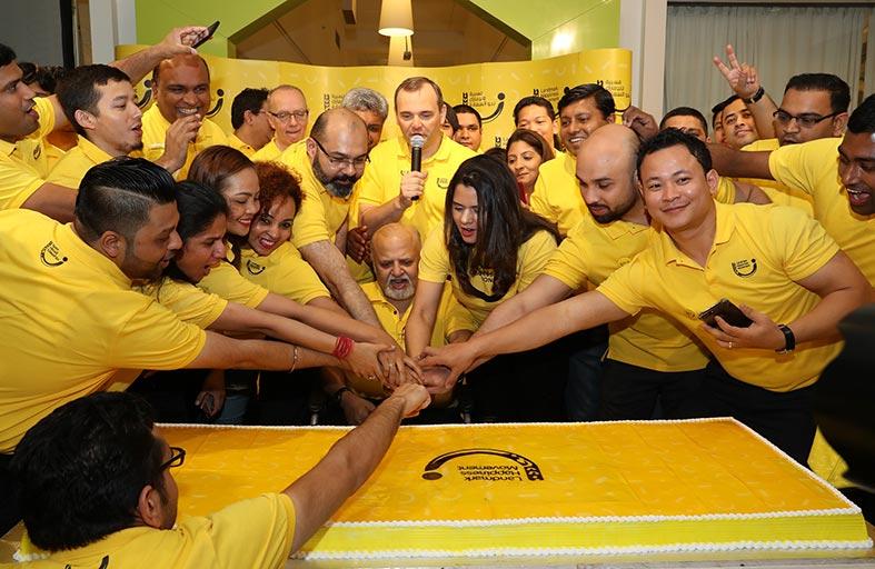 مجموعة لاندمارك تسعى لأن تصبح أسعد مكان للعمل في المنطقة