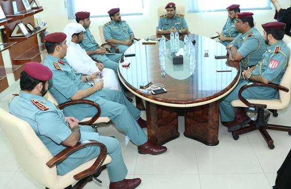 مركز شرطة الرمس بطموح خدمات «سبع نجوم»