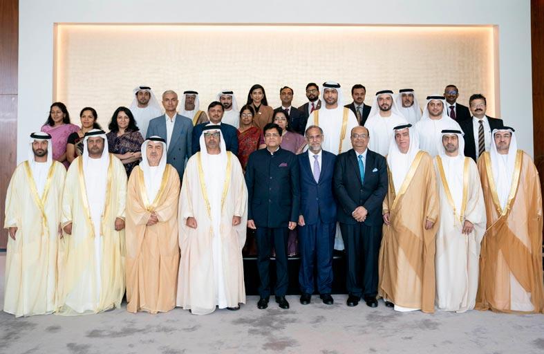 فريق العمل الاستثماري الإماراتي - الهندي المشترك يعقد اجتماعه السابع في أبوظبي