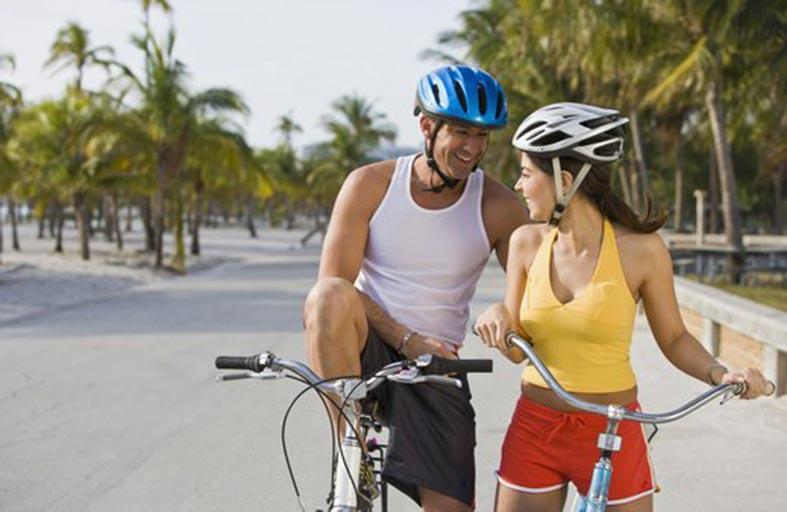 الدراجة الهوائية تحمي القلب