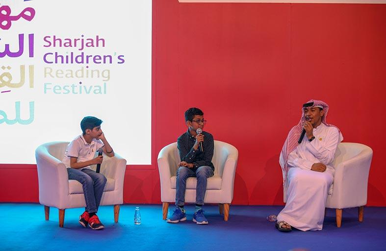 «الشارقة القرائي» يستعرض إبداعات الأطفال الأدبية العالمية